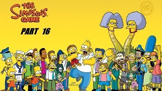 THE SIMPSON GAME PART 16  HD USA [English Gameplay Walkthrough] (no commentary)