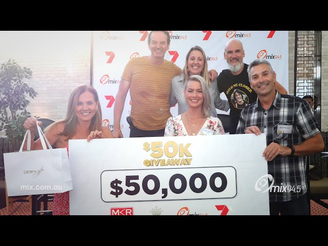 What Does Winning $50K Look Like? - Clairsy, Matt and Kymba | mix94.5