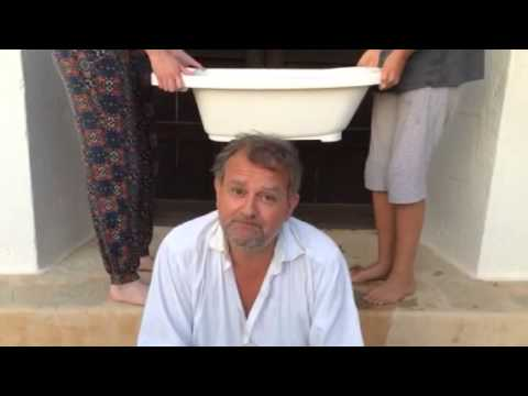 Hugh Bonneville's Ice Bucket Challenge for ALS