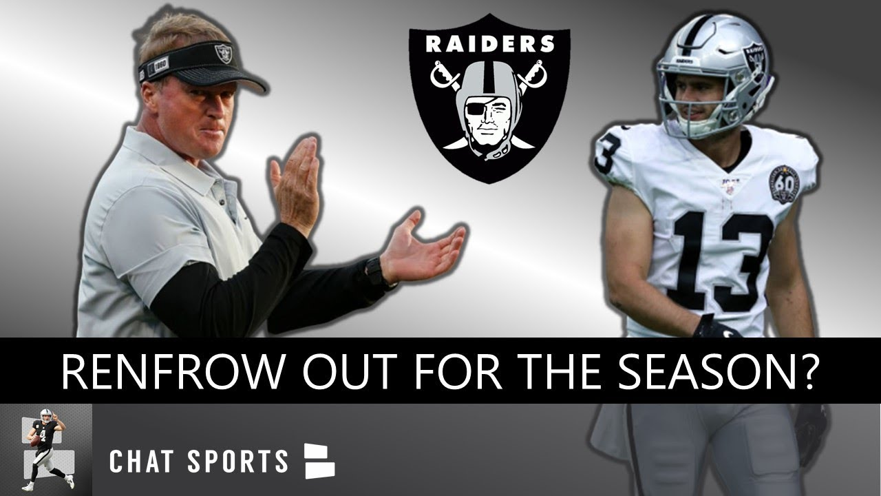 Raiders Hunter Renfrow, Maxx Crosby end stellar rookie seasons ...