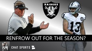 Raiders' Hunter Renfrow Out For Season? 4 Players Jon Gruden Trusts To Play In The Slot For Oakland