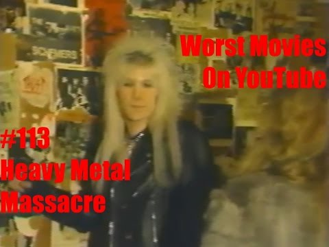 worst movies on youtube 113 heavy metal massacre review youtube. Black Bedroom Furniture Sets. Home Design Ideas