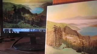 пишем пейзаж (видеоурок 6) - живопись маслом - paint landscape  - multi-layered oil painting