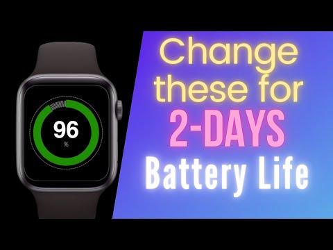 Apple Watch Battery Savings Tips: How to Get 2+ Days Battery Life for Apple Watch.