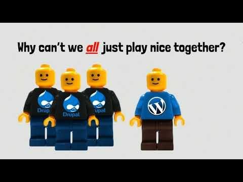 DrupalCon Nashville 2018: Webcomponents, Polymer And HAX: Decoupling Authoring For Drupal And Beyond