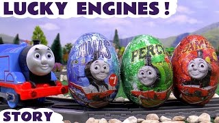 Thomas And Friends Surprise Eggs Episode Disney Christmas Mickey Mouse Huevos So