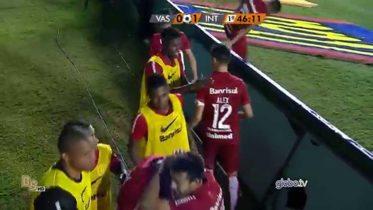 Gols Vasco 1 x 1 Internacional - Brasileirão 2015 - YouTube 888be2cc134ab