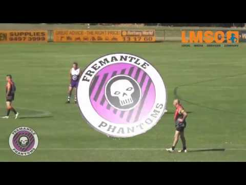 Fremantle Phantoms 2018 Seniors vs Vic Park Pigs