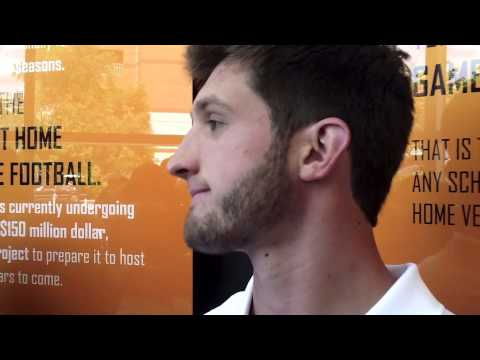 #VolReport: Nathan Peterman Media Session (8/1/13)