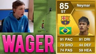 BARCELONA NEYMAR LIVE WAGER!! - Fifa 13 Ultimate Team Transfers