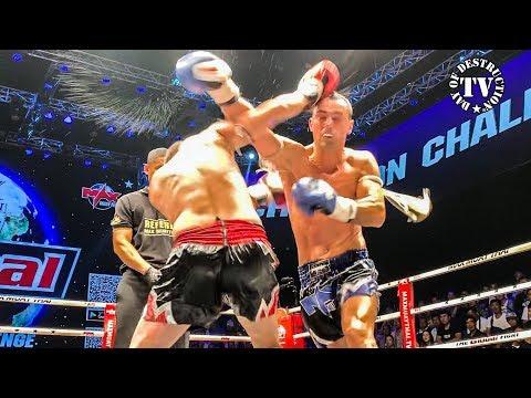 Max Muay Thai Global - The Scorpion Johann Dederer vs Caka Genci