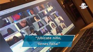 Una maestra en Durango, se hizo viral en redes sociales tras ser exhibida gritandole a sus alumnos por no encender sus cámaras en una clase online; la Universidad Juárez del Estado de Durango la separa de su cargo sin goce de sueldo