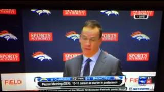 Peyton Manning Reveals Exactly What's On His Mind