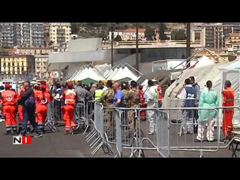Salerno sono sbarcati circa 700 exstracomunitari