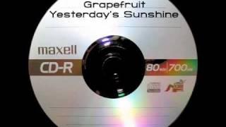 Grapefruit - Yesterday