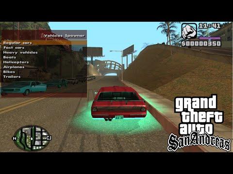 GTA San Andreas New Cheats Codes | Cheat Menu |