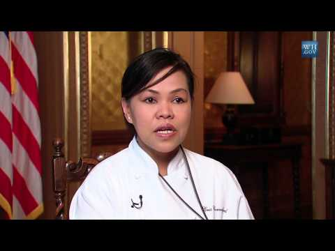 My First Job: White House Executive Chef Cris Comerford