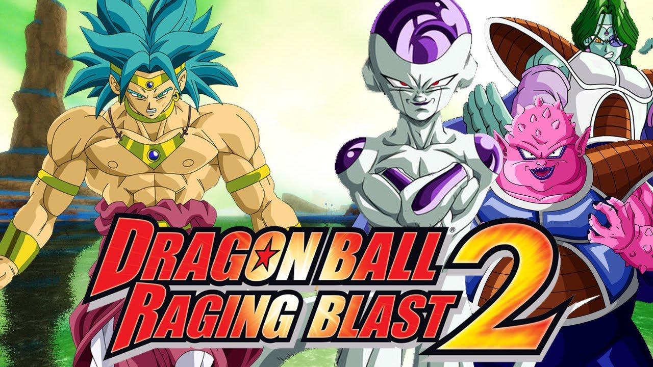Dragon Ball Raging Blast 2: SSJ Broly vs Frieza, Zarbon ...