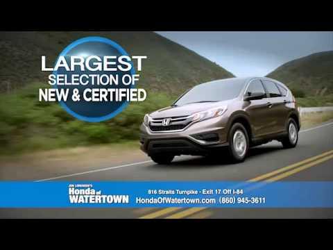 Honda of Watertown Things that Matter - YouTube