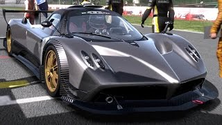 Need for Speed: Shift - Pagani Zonda R - Test Drive Gameplay (HD) [1080p60FPS]
