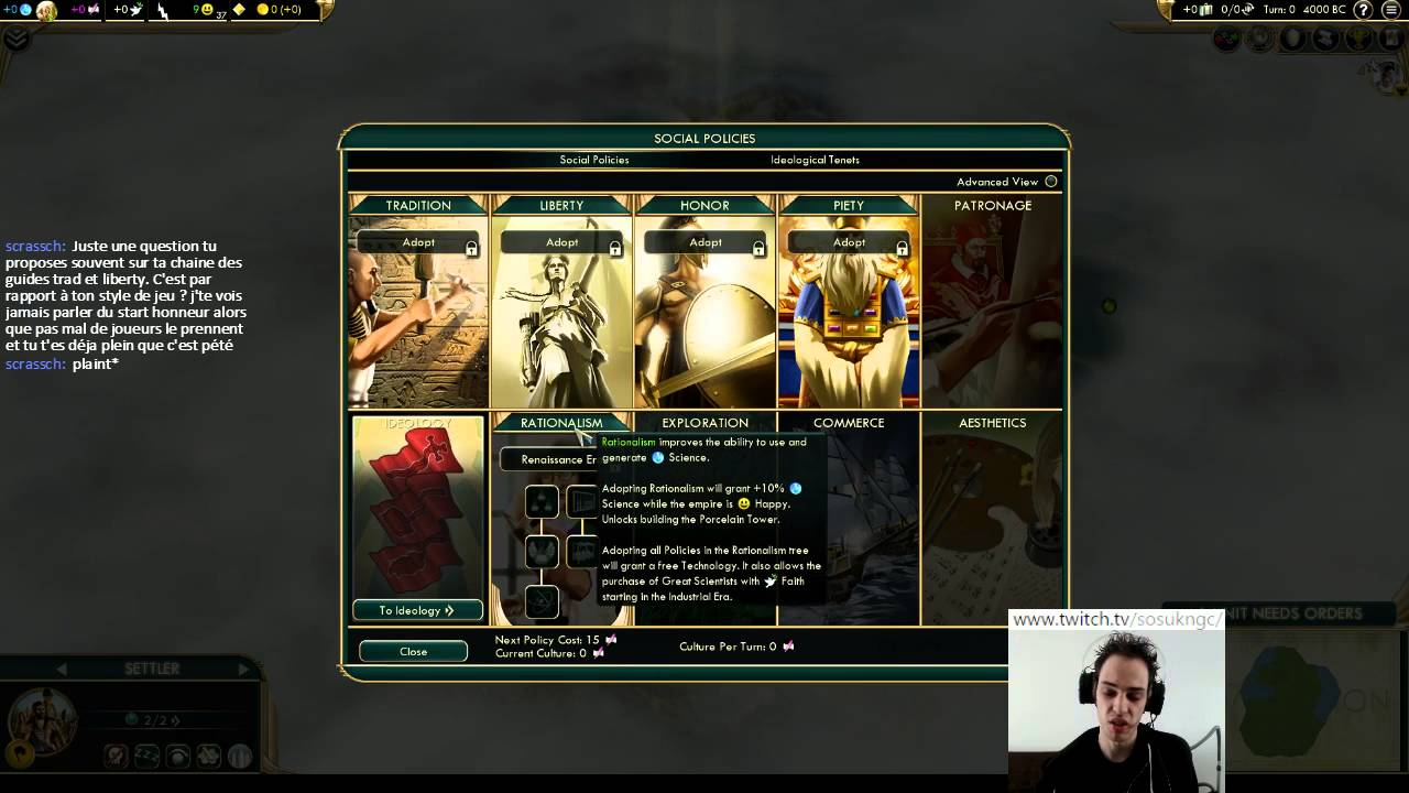 civilization v guide doctrine tradition youtube rh youtube com Sid Meier's Civilization 4 Civilization III