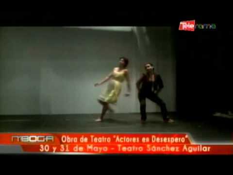 Obra de teatro Actores en desespero 30 y 31 de mayo - Teatro Sánchez Aguilar