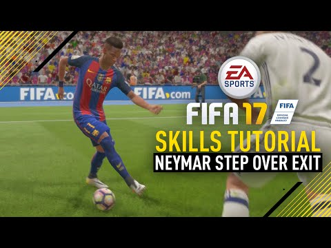 FIFA 17 NEW SKILLS TUTORIAL | NEYMAR STEP OVER EXIT!