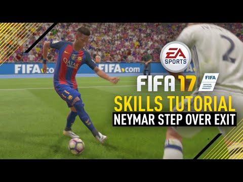FIFA 17 NEW SKILLS TUTORIAL | NEYMAR STEP OVER EXIT!