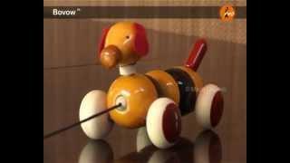 Maya Organic, Channapatna: Wooden Toy - Bovow