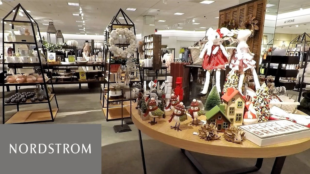 CHRISTMAS AND THANKSGIVING DECOR AT NORDSTROM - CHRISTMAS SHOPPING ...
