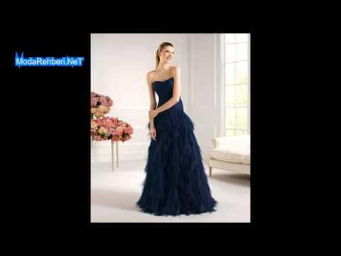 7fa47566cc08d Düğün için elbise modelleri 2019 - 2020 - YouTube