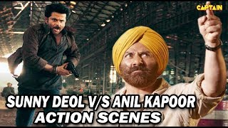 Sunny Deol VS Anil Kapoor Action || Bollywood Action Movies Scenes