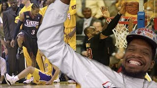 "Saved Lebron's LIFE!! NBA ""That Was Iconic"" MOMENTS"