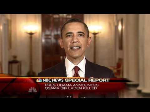 Osama bin Laden is dead, Obama Speech at White House - YouTube Obama Bin Laden Speech