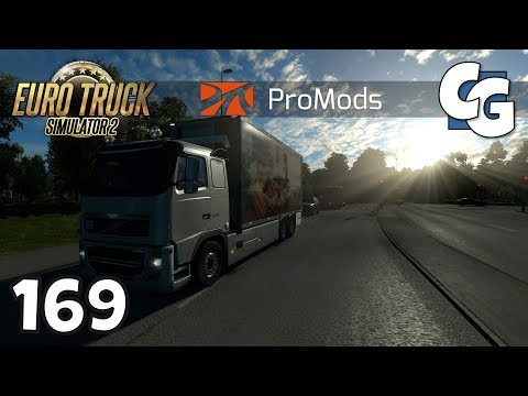 Euro Truck Simulator 2 - Ep. 169 - Welcome back to Denmark - ETS2 ProMods 2.20 Gameplay