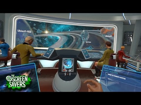 The New Screen Savers 107: Star Trek in VR and IRL
