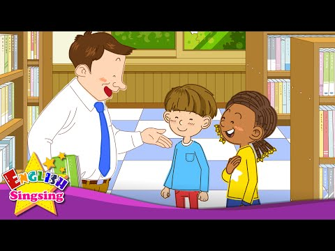 [Greeting] Good afternoon. Nice to meet you. - Easy Dialogue - English conversation for Kids