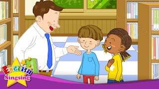 Good afternoon. Nice to meet you. (Greeting) - Easy Dialogue - English conversation for Kids