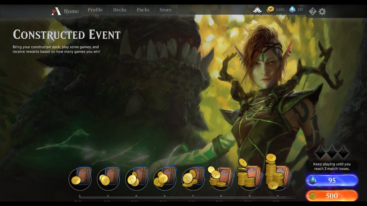 MTG Arena - Ep 17 : 7-Win Constructed Event with Mono-White Aggro