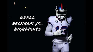 "Odell Beckham Jr. Highlights ""See Me Fall"""