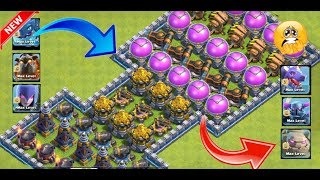 Who can survive this difficult troll trap on coc😯th 12 troops vs trap😎Epic battle💘unity clash🌹