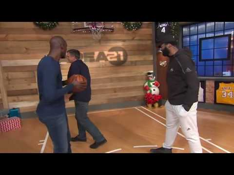 Area 21: Andre Drummond Sneak Attack   Inside the NBA   NBA on TNT