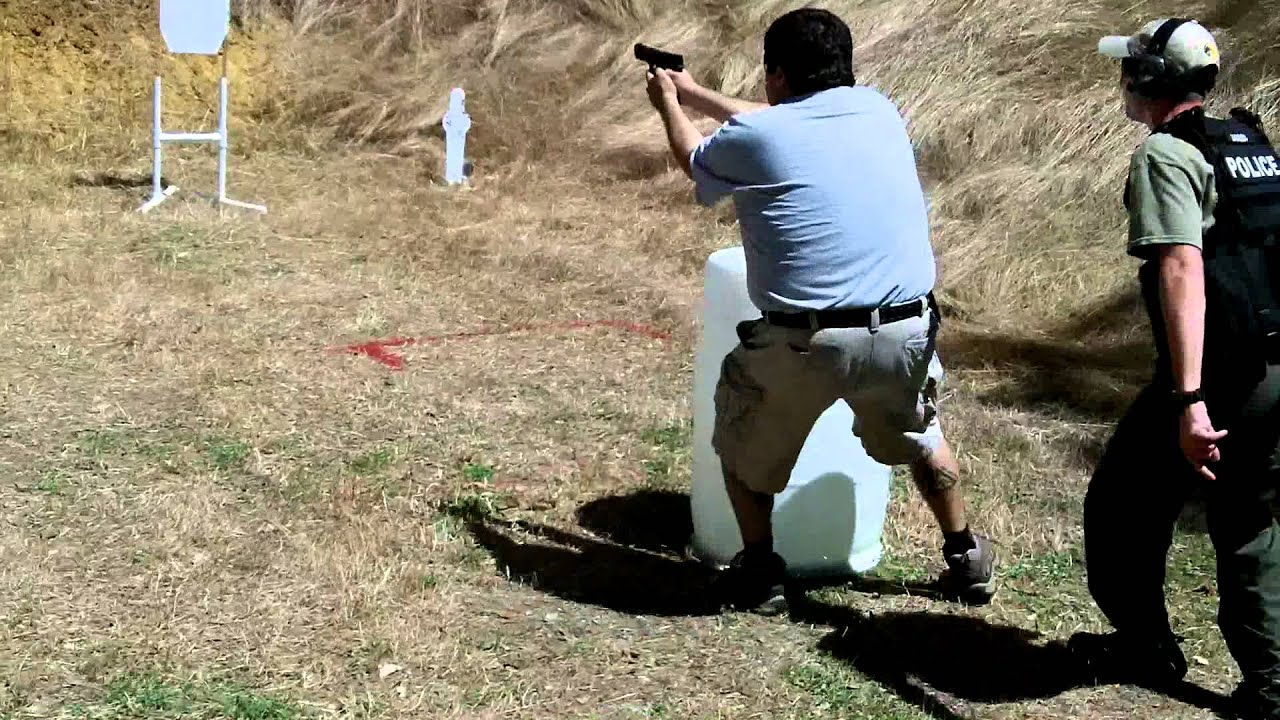 Practical Arms Tactical Handgun Training Obstacle Course
