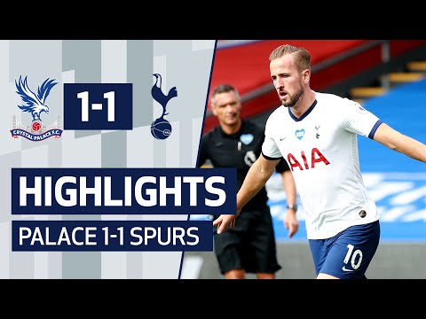 Crystal Palace Tottenham Goals And Highlights