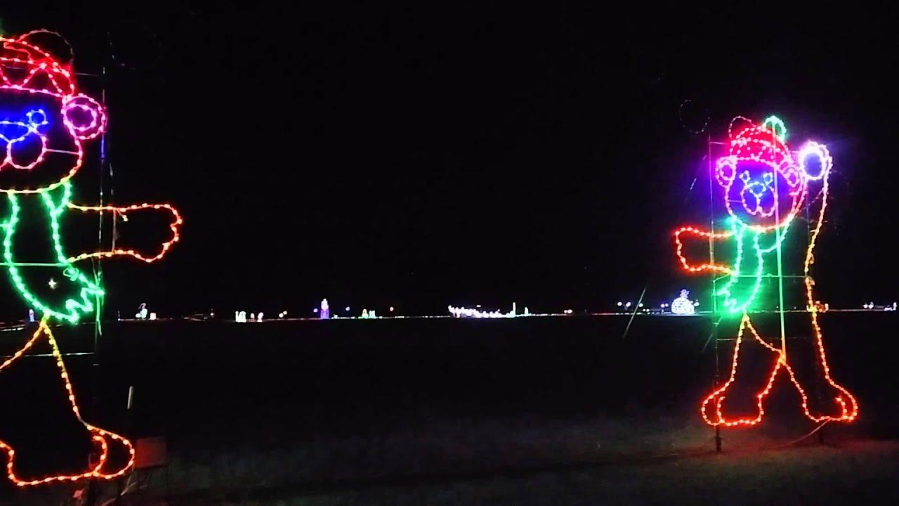 Don Strange Ranch Christmas display - YouTube