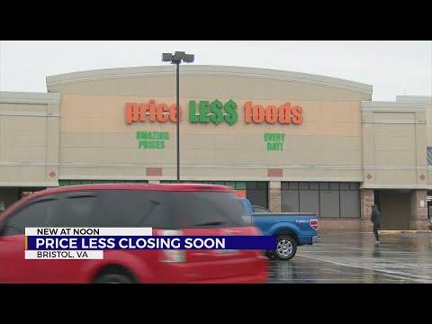 Price Less closing in Bristol, Va