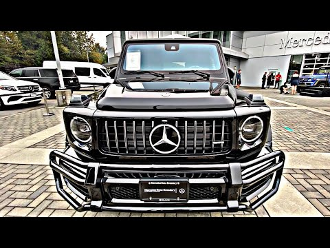 2021 Mercedes G63 AMG is $350000 *WILD SUV* Walkaround Review in 4K