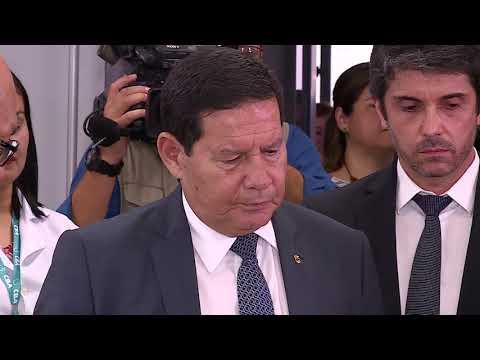 VISITA DO VICE-PRESIDENTE HAMILTON MOURÃO A MANAUS - 18.02.2020