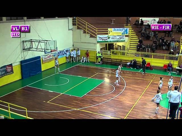 Fortitudo Rieti vs S. Michele Firenze - 3° Set