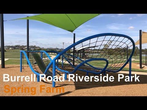 Burrell Road Riverside Park -Spring Farm